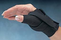 North Coast Medical Comfort Cool Thumb CMC Restriction Splint - Right, Large - Model NC79567 - Each by Beststores