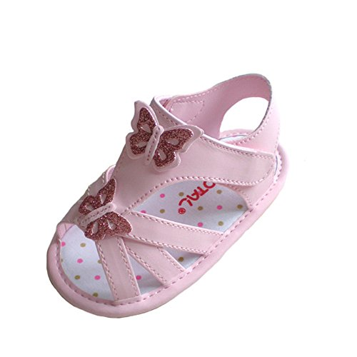 Kuner-Baby-Girls-Pu-Leather-Flowers-Rubber-Sole-Anti-Slip-Summer-Sandals-First-Walkers