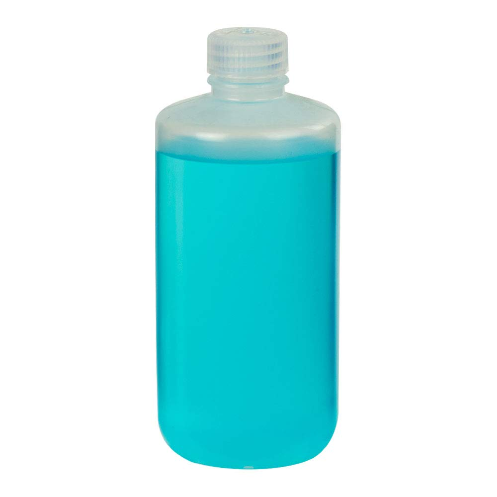 16 oz./500mL Nalgene Narrow Mouth Economy Polypropylene Bottle with 28mm Cap (1 Each) by Product Conect