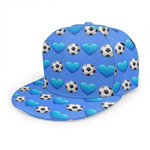 Head Soccer App Costumes - DemarLOO Unisex Adjustable 3D Printed Flat