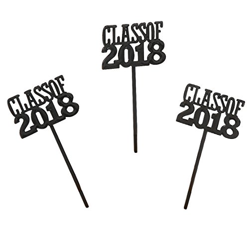 Price comparison product image Class of 2018 Cupcake Food / Appetizer Picks for Graduation Party - 72 pc