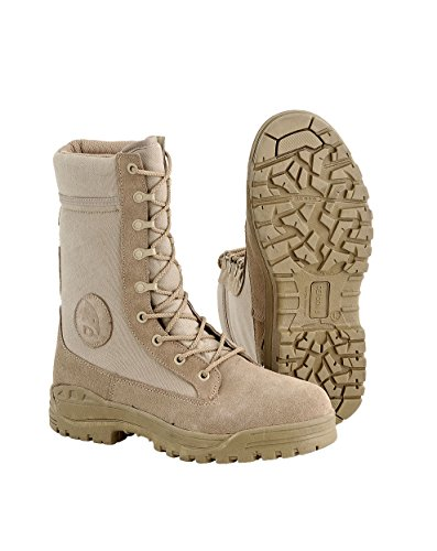 Defcon 5 Anfibi Stivaletti Militari Tan Tactical Army Boots Nr.41