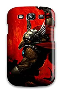 Rugged Skin Case Cover For Galaxy S3 Eco Friendly Packaging Warrior
