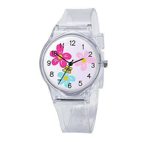 (Yucode Women Elegant Easy Reader Digital Chronograph Watch Analog Quartz Watches Casual Wrist Watch Best Gift for Girl)