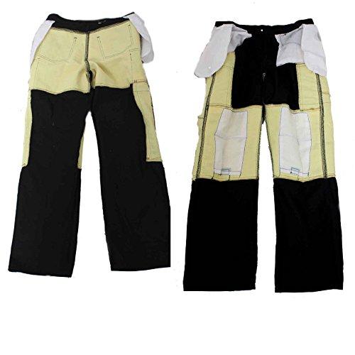 Newfacelook Hommes Motorcycle Moto Pantalon Motards Jeans Renforcée Aramide Protection color Noir size