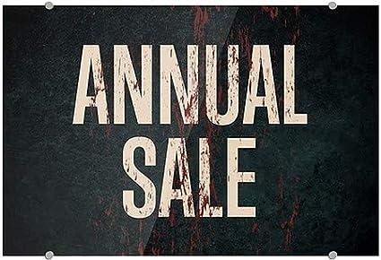 CGSignLab 36x24 Ghost Aged Rust Premium Brushed Aluminum Sign Annual Sale