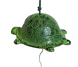 Japanese Cast Iron Turtle Windchimes Wind Chime 485-259 S-2750