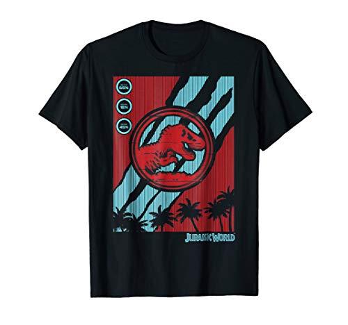 2 Tech Logo T-shirt (Jurassic World Two Logo Tech Screen Glitch Graphic T-Shirt)