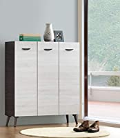 Maison concept wooden cabinet, brown and off white
