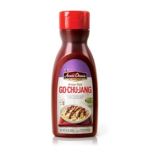 Spicy Soy Sauce (Annie Chun's Korean Sweet and Spicy (Go-Chu-Jang) Sauce, 10 Ounce)