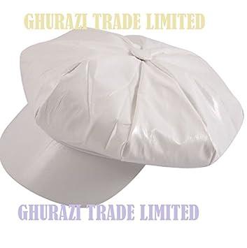 837e1854777d5 Ladies Adult White Hat 1960 s