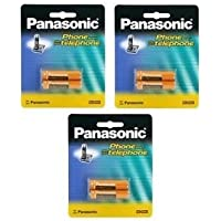 3 Packs of OEM Panasonic Hhr-4dpa/2b Ni-mh Rechargeable Cordless Phone Battery Fast Shipping Ship Worldwide