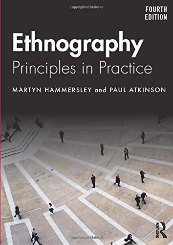 Ethnography por Martyn Hammersley