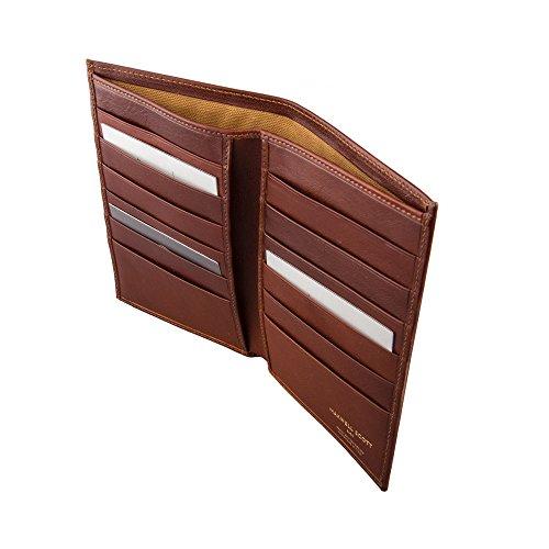 Scott® Vestito pianillo Lusso Marrone Tan Gli Castagno Tuta Uomini Di Portafoglio In Classico Per Pelle Maxwell Personalizzata U4dAqxfU