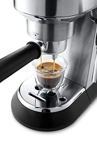 De'Longhi Dedica EC685.M Macchina da Caffè Espresso Manuale e Cappuccino, Caffè in Polvere o in Cialde E.S.E., 1350 W… 2