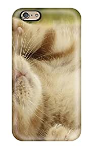 Flexible Tpu Back Case Cover For Iphone 6 - Cat And Dog