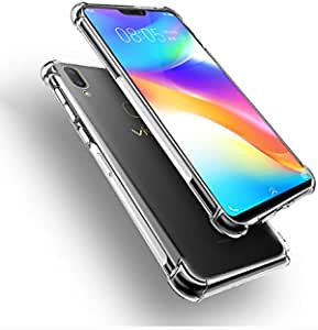 VIVO V9 Crystal Cleear Air Cushion Anti Crack Slim Case Cover