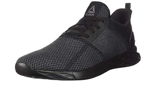 Reebok Men's Astroride Strike Running Shoe, Blackash Grey