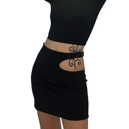 Yesmile - Falda para Mujer de Negocios, Sexy, Minifalda, Falda ...
