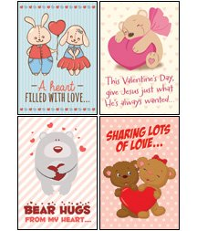 Amazon Com Hugs Love Niv Scripture Greeting Cards Boxed
