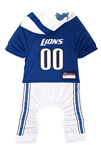 NFL DETROIT LIONS Pet Onesie, Size Small. Cutest Pet Outfit for Any Pet, Any Occasion! by Pets First