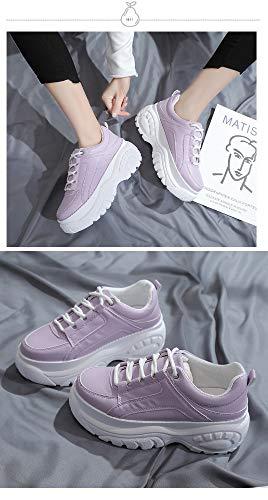 De Des Formation Brillantes 5eu Pneus Blanches Chaussures Course Petites Résistant Sport L'usure Zhijinli 37 À Fond 36 5eu 7w05qYR