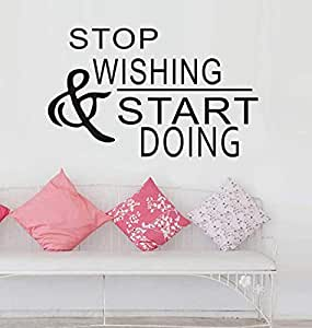 English word Living Room Wall Stickers Sofa background wall papers 034