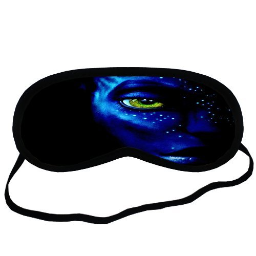 Avatar movie Sleeping Mask Comfortable Face Blindfold Cotton Soft Smooth Eyes Sleeping Mask Easy Carry For Travel or (Avatar Masks)