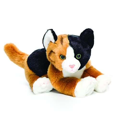 Nat and Jules Calico Cat Plush Toy, Small