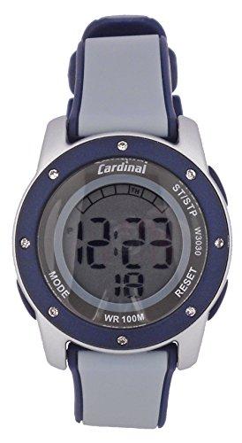 Cardinal Quartz Digital Watch