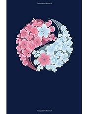 Sakura Notebook: Reading Notebook Journal For Cherry Blossom Festival Lovers And Japanese Sakura Trees Fans