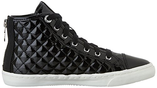 Femme Geox Sneakers Giyo C9999 Hautes Noir HqxZw4Tq