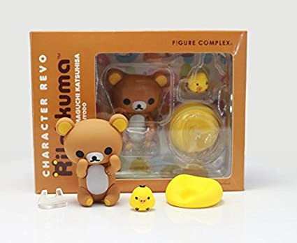 Figure Complex Character Revoltech Rilakkuma PVC Action Figure Collectible Model