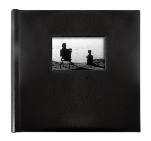 Creat-a-Memory Record and Play Family Memory Photo Album (Black Bonded Leather, 12 in x 12 in)