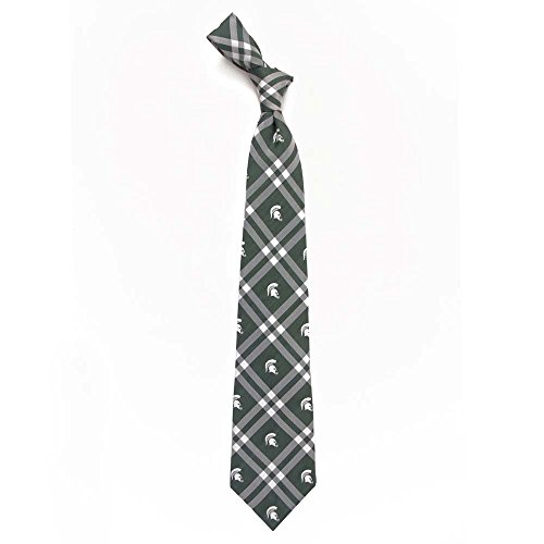 Michigan State Spartans Rhodes Neck Tie Eagles Wings