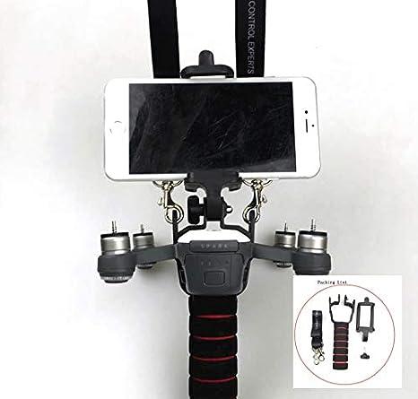 Adaptador de cardán de Mano para dji Spark Drone Mango Estabilizador Kit PTZ con cordón para Smartphone DIY Piezas de Repuesto: Amazon.es: Electrónica