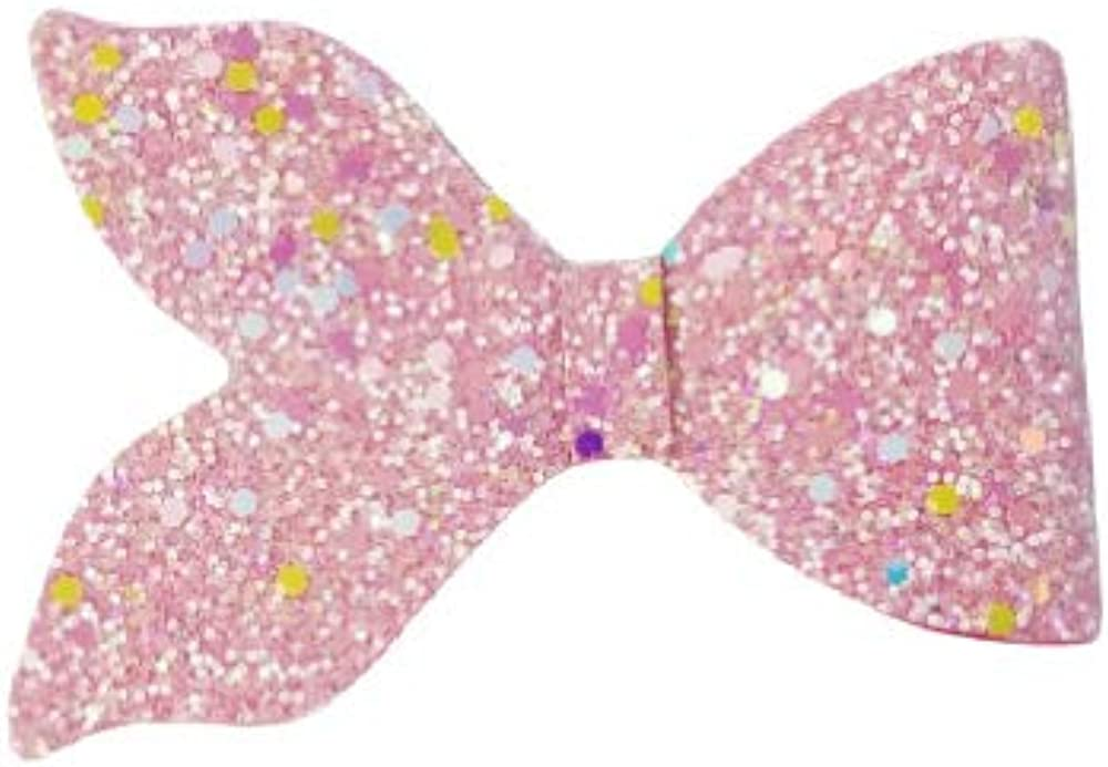 """Glow in the dark mermaid tail bow on clip 4"""""""