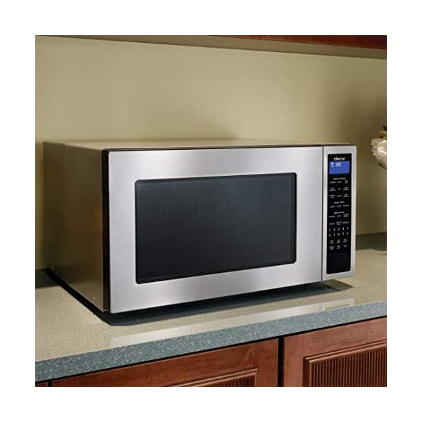 Dacor DMW2420S Distinctive Series Counter Top or Built Microwave, Stainless 2