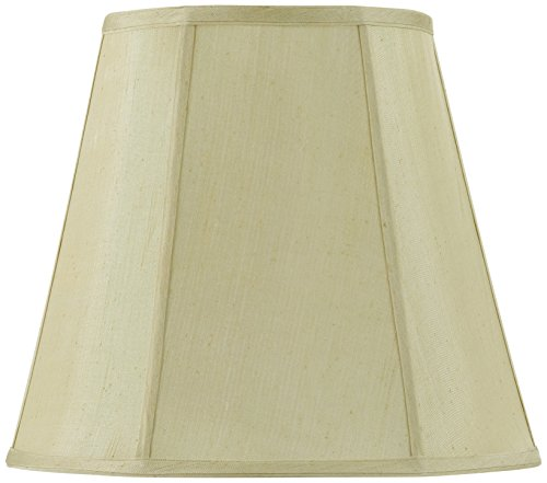 Cal Lighting SH-8107/16-CM Vertical Piped Deep Empire Shade with 16-Inch Bottom, Champagne (Cal Lighting Table Lamp compare prices)