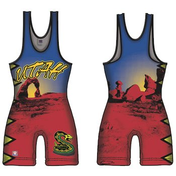 Brute UTAH Sublimated Singlet - YOUTH SMALL ()