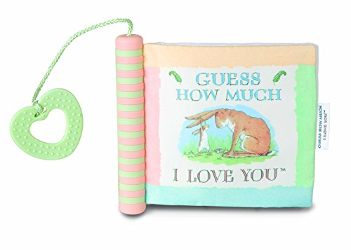 Guess How Much I Love You Soft Teether Book, 6.5