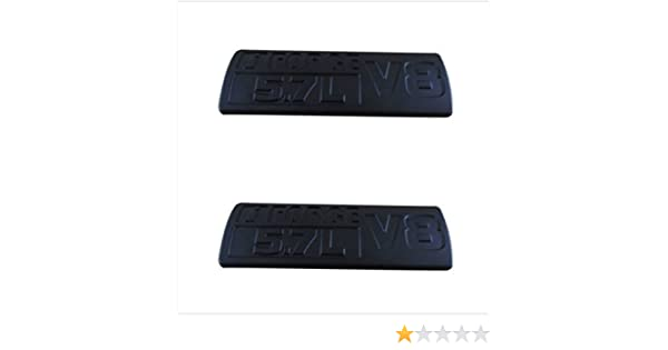 Matte Black Painted Emblems Badges 14inch Fits TUNDRA TRD PRO 2013-2018 Toyota