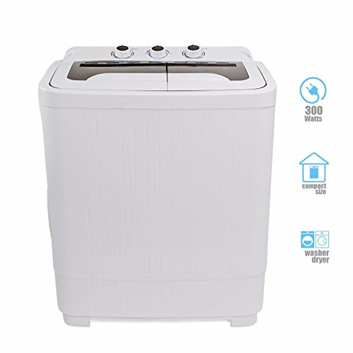 Portable Mini Washer Machines Compact 8 - 9lb Washing Spin Dryer Laundry Rv Dorm