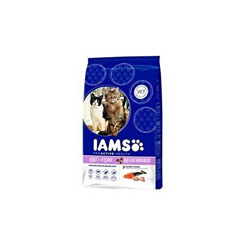 Iams Adult Dry Cat Food Multicat (3kg) (Pack of 6)