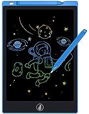 LCD-schrijftablet, elektronische schrijfplank voor kinderen en volwassenen, 11 inch (27,9 cm), elektronisch, uitwisbaar, memo voor kinderen en volwassenen, thuis, op school, op kantoor (blauw)