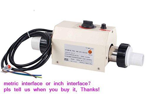 New 3KW Calentador de agua Termostato para Home piscina & Spa de 220V
