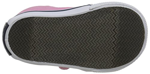 Sperry Hallie Hook & Loop Sneaker (Infant/Toddler/Little Kid) Pink Salt Wash