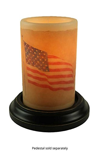 CR Designs Waving American Flag Candle Sleeve