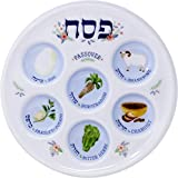 Passover Seder Plate Deluxe Quality Plastic
