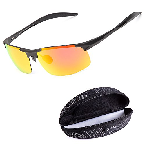 JETPAL Sports Style Men's Polarized Sunglasses Driver Glasses